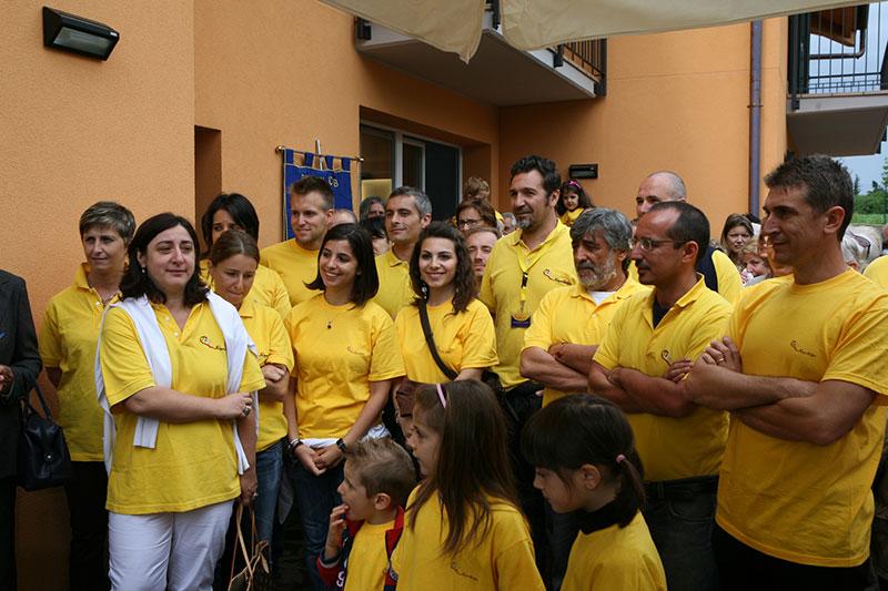Inaugurazione casa di Paolo e Piera